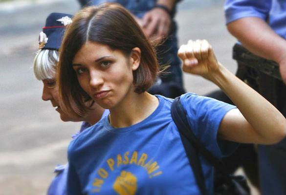 Nadezhda Tolokonnikova from Pussy Riot