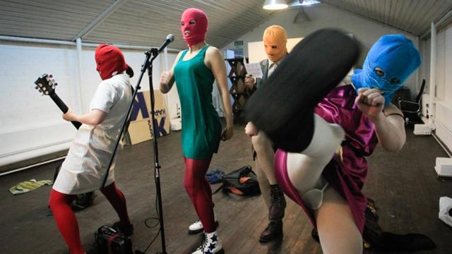 """Still from """"Pussy Riot: A Punk Prayer,"""" 2012"""