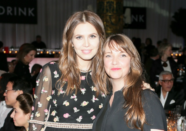 Dasha Zhukova and Kate Fowle at the ICI's Benefit Gala in November 2012. Photo: Billy Farrell Agency