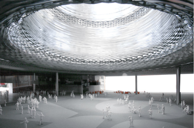 Herzog & de Meuron's plans for the new Messe Hall, Basel