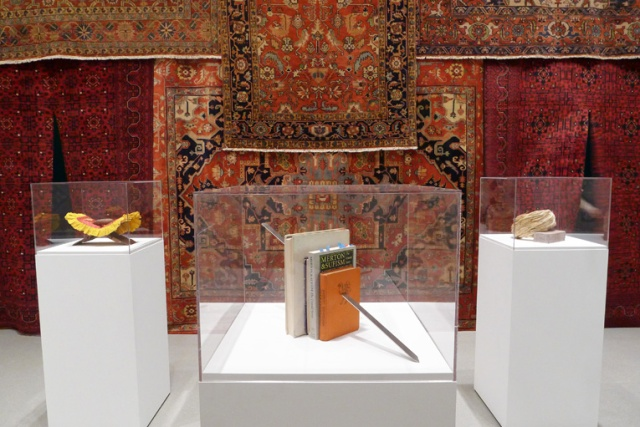 Installation view of Slavs and Tatars, Beyonsense, MoMA, New York, August 15 - December 10, 2010. Photo courtesy of the artists.