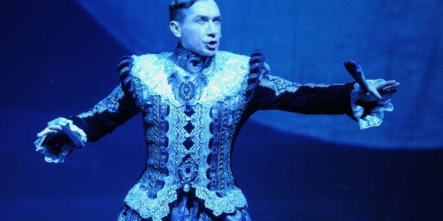Monroe as Polonius