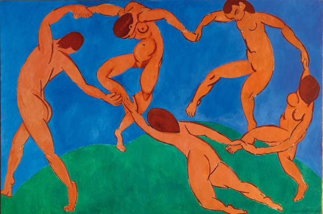 Henri Matisse, The Dance, 1910, Collection of the Hermitage