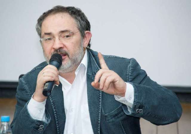 Marat Guelman, speaking on behalf of his Cultural Alliance foundation at PERMM