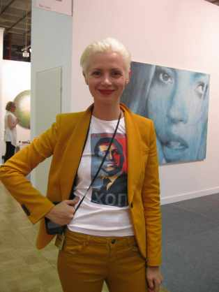 Christina Steinbrecher at ArtMoscow, 2011