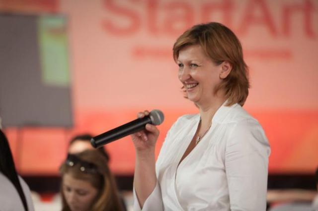 Deposed director Lena Oleinikova