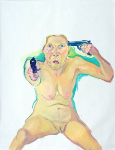 Maria Lassnig, You or Me, 2005.
