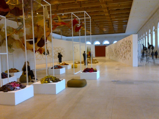 """Installation view of """"More Light"""""""
