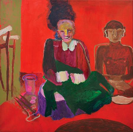 Anna Boghiguian, Leper, 2008