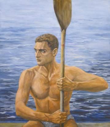 Georgy Guryanov, The Rower Sergey, 1999