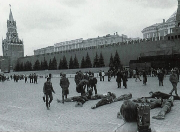 E.T.I.'s action on the Red Square, April 18, 1991
