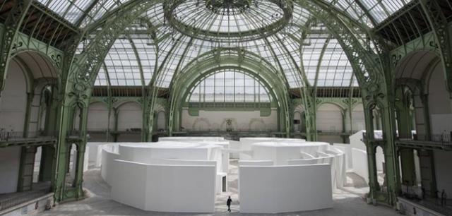 Ilya and Emilia Kabakov, The Strange City, Monumenta 2014, Paris.