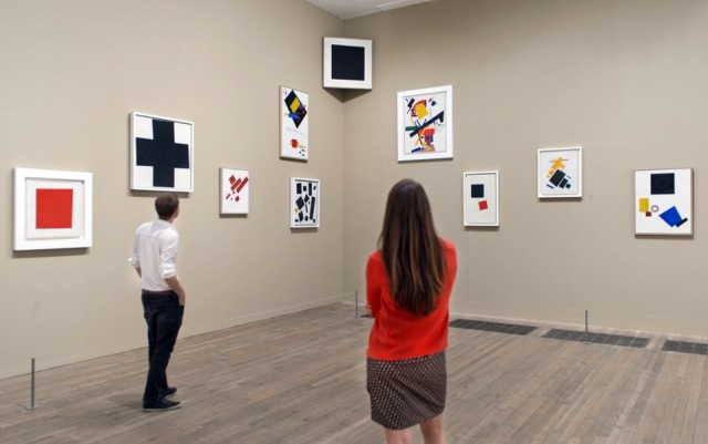 The legendary 0,10 exhibition, recreated at Tate Modern