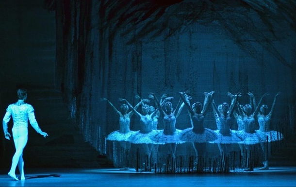 David Hallberg in The Bolshoi's Swan Lake at Lincoln Center