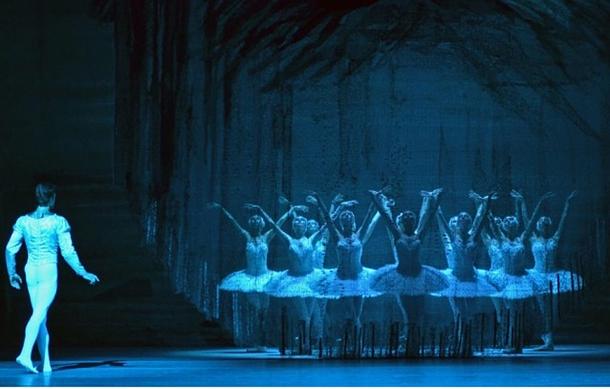 David Hallberg in The Bolshoi's Swan Lake at Lincoln Center