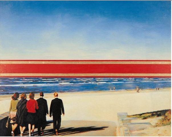 Erik Bulatov's Horizon, 1971